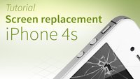 iPhone 4s screen repair tutorial and FAQ [english]