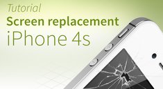 iPhone 4s screen repair tutorial and FAQ [english]