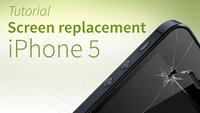 iPhone 5 screen repair tutorial and FAQ [english]