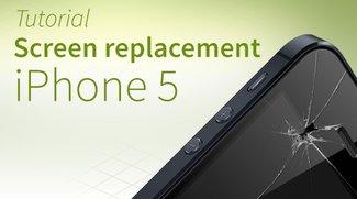 iPhone 5 screen repair tutorial and FAQ [english]