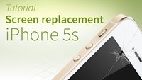 iPhone 5s screen repair tutorial and FAQ [english]