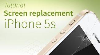 iPhone 5s screen repair tutorial and FAQ [english]