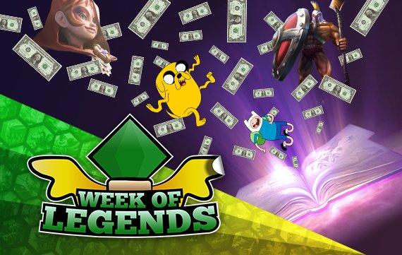 Week of Legends #3: Rekord-Preispool bei Dota 2 & Adventure-Time-MOBA