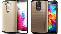 LG G3: Trotz 5,5 Zoll-Display offenbar kaum größer als das Samsung Galaxy S5 mit 5,1 Zoll