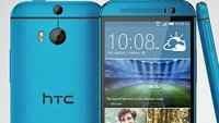 HTC One (M8): Pressebild der blauen Version (Leak)