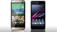 Sony Xperia Z1 compact vs. HTC One mini 2 (Datenvergleich)