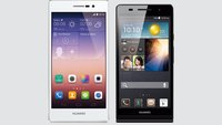 Huawei Ascend P7 vs Ascend P6: Technische Daten im Vergleich