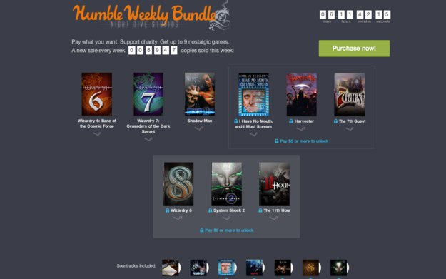 Humble Weekly Sale: Klassiker wie System Shock 2, Shadow Man & Wizardry im Angebot