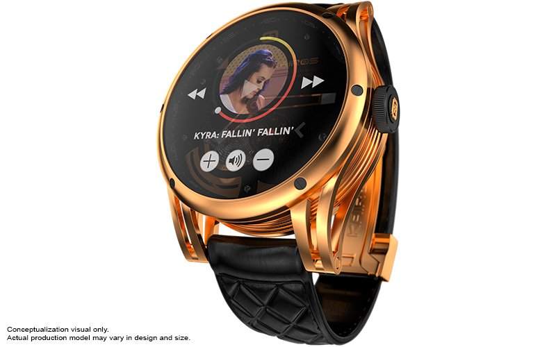 Kairos-Smartwatch-Gold-OLED-Music-Player