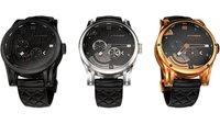 Kairos Smartwatch: Mechanische Uhr mit transparentem OLED-Display und Android Wear