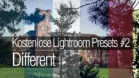 Lightroom Presets kostenlos downloaden #2 - Different