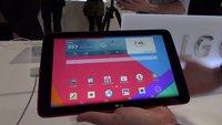 LG G Pad 7.0, 8.0 & 10.1: Neues Tablet-Portfolio im Hands-On-Video