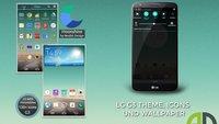 LG G2 in G3-Optik: Wallpaper, Statusbar und Homescreen-Theme jetzt schon nutzen
