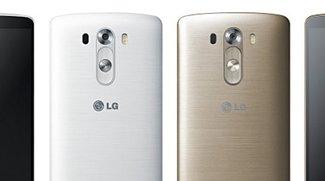 LG G3 in Gold und Weiß von allen Seiten (Leak)