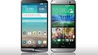 LG G3 vs. HTC One (2014): Die Geräte im Vergleich