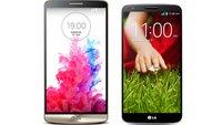 LG G3 vs. LG G2: Technische Daten im Vergleich