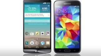 LG G3 vs. Samsung Galaxy S5: Die Geräte im Vergleich (Video)