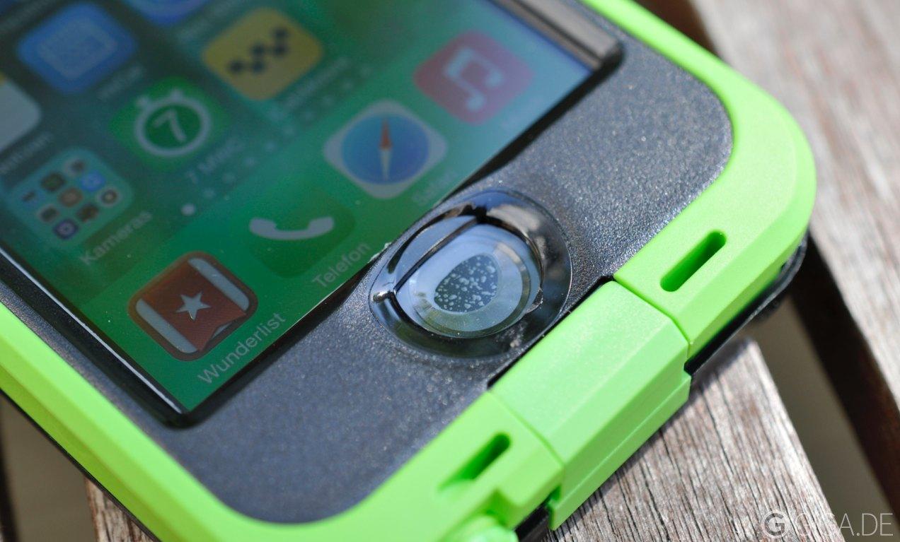 Wasserdichte Iphone Cases Mit Touch Id Lifeproof Nd Und Fre Im Samsung Galaxy S6 Case Test
