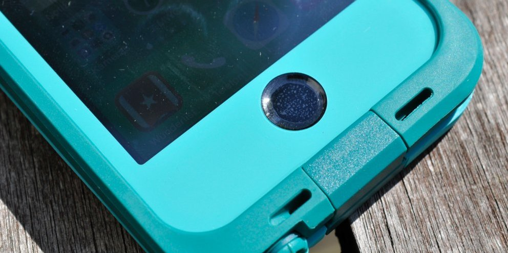 Lifeproof fre: mit Touch-Membran und Displayfolie.