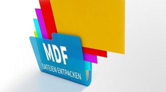 MDF-Datei: Öffnen, entpacken und brennen - so funktioniert's!