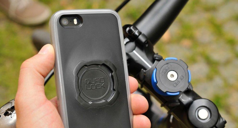 Fahrradhalterung Iphone  Plus Test