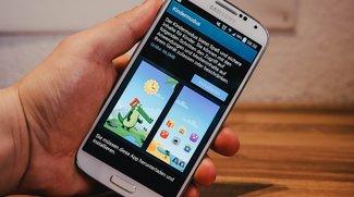 Samsung Galaxy S4: Update bringt Kindermodus, bessere Akkulaufzeit &amp&#x3B; Knox 2.0 [Update]