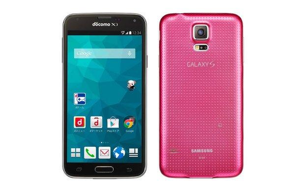 Samsung Galaxy S5: Pinkfarbene Version des Topmodells vorgestellt – in Japan