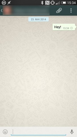 WhatsApp sendet nicht