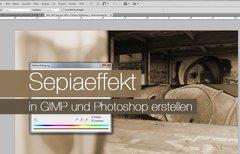 Photoshop: Sepia-Effekt nutzen...