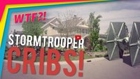 Stormtrooper im MTV Cribs Style