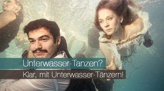 Unterwasser-Tänzer