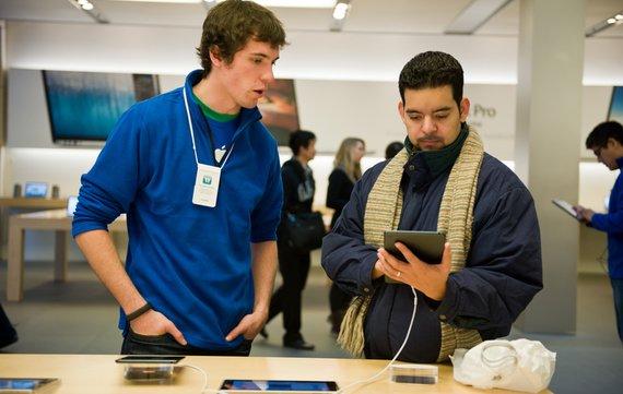 Nicht nur Apple hat Probleme mit den Tablet-Verkäufen