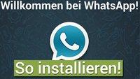 WhatsApp Plus installieren - Bild für Bild