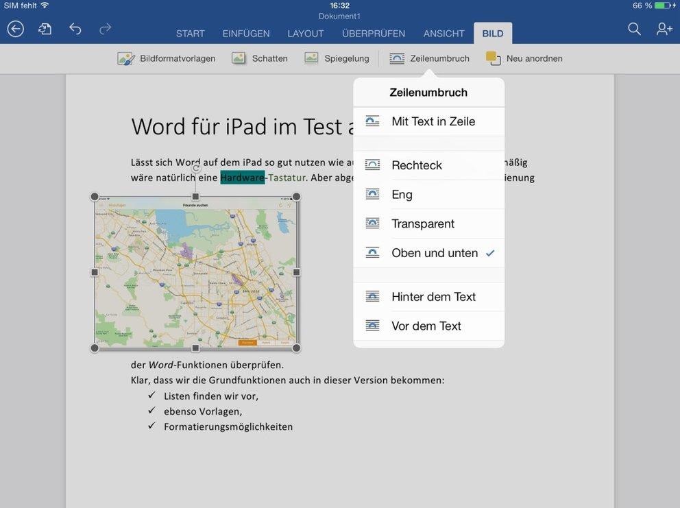 Word-Test_iPad-App_Bilder