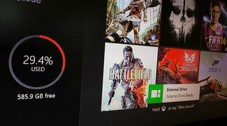 Xbox One: Bald mit zusätzlichem externen Speicher?