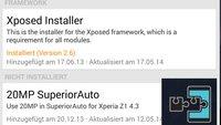 Xposed Framework: Version 2.6 veröffentlicht – bringt neues Icon und überarbeitete Oberfläche