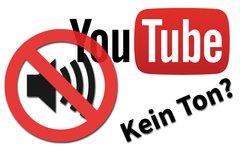 Youtube spielt keinen Ton? Das...