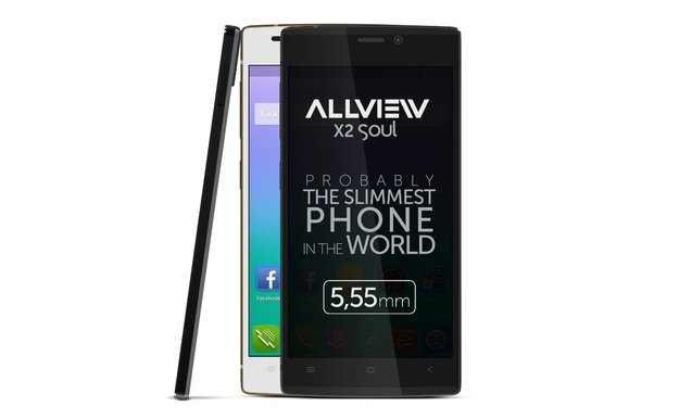 AllView X2 Soul: Dünnstes Smartphone der Welt jetzt in Deutschland bestellbar