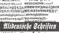 Altdeutsche Schrift in Word installieren und verwenden