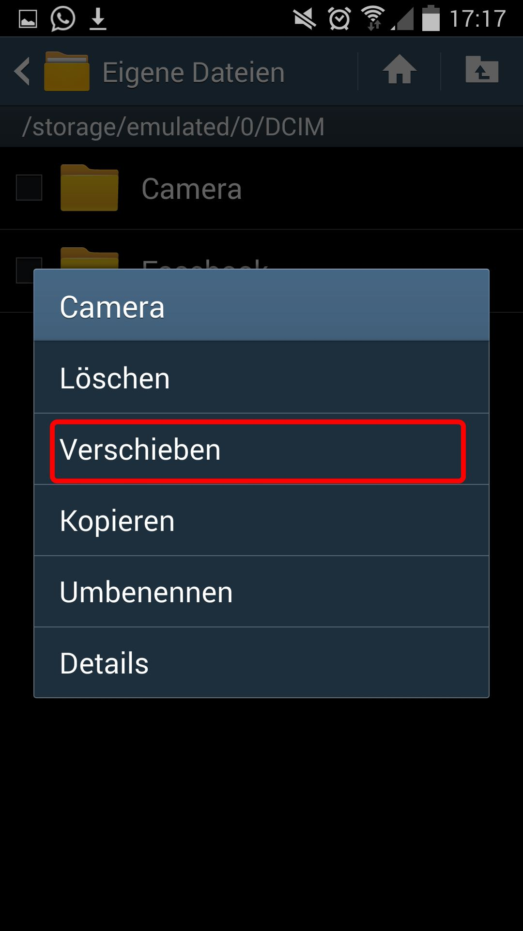 whatsapp auf sd karte verschieben samsung Bilder auf SD Karte verschieben oder speichern: So geht's bei Android