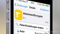 AttachmentEncryptor: Cydia-Tweak behebt iOS 7 Mail-Verschlüsselungs-Bug
