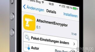 AttachmentEncryptor: Cydia-Tweak behebt iOS 7 Mail-Verschlüsselungs-Bug