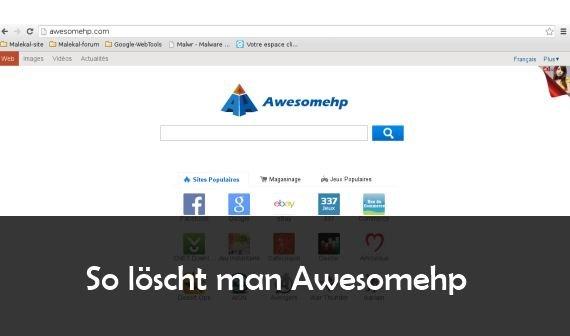 Aweshomehp Virus entfernen: So wird der Browser wieder sauber