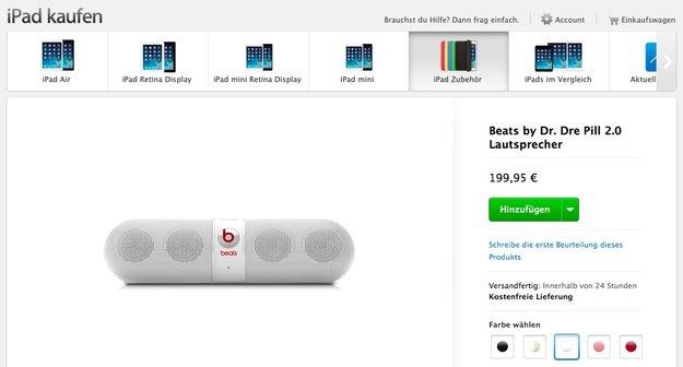 Apple offenbar vor Übernahme von Beats Electronics