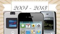 Bestseller: Die meistverkauften Telefone der letzten 10 Jahre