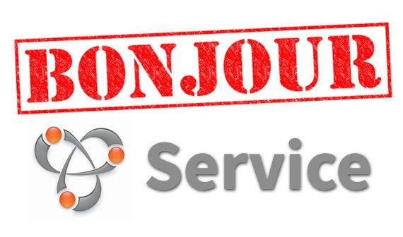 Was ist Bonjour Service und wie wird man den Dienst wieder los?