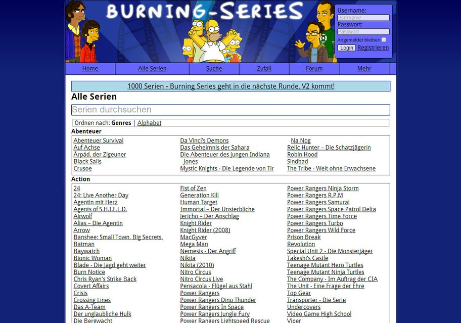 Burning Series.Com