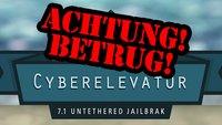 Vorsicht, Betrug!: CyberElevat0r Untethered iOS 7.1 Jailbreak ist ein Fake