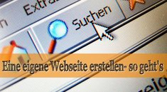 Eine eigene Webseite erstellen: Wie und wo?