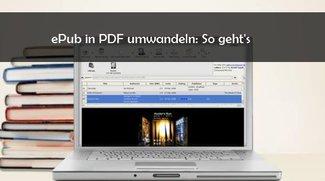 ePub in PDF umwandeln mit kostenlosem Konverter